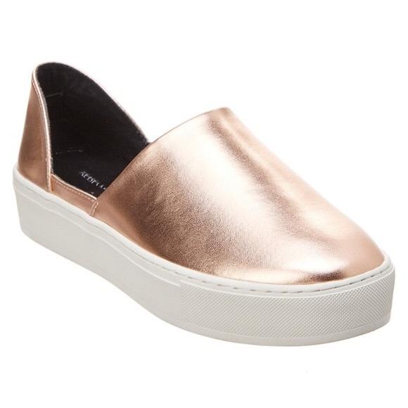 Rose Rebecca Nwob Sneakers Nana Minkoff Gold XkPiZu